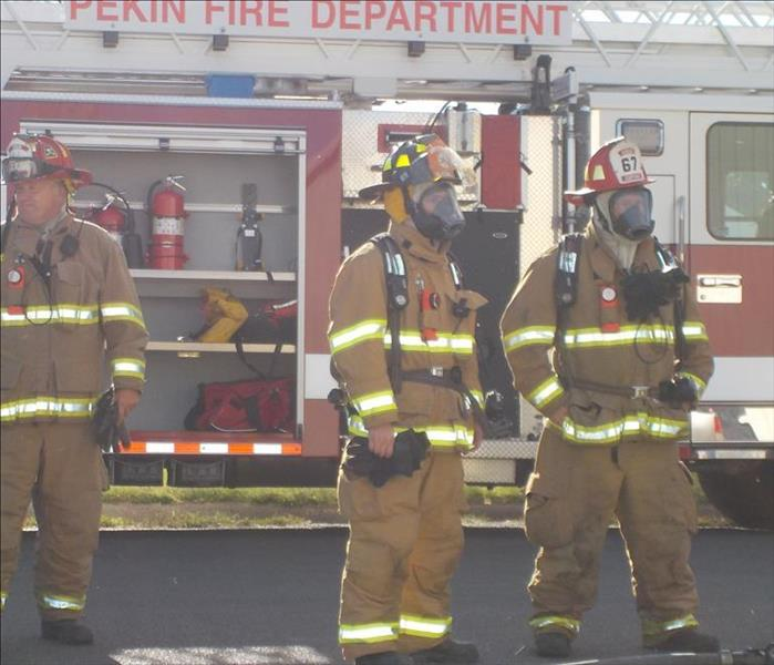 2015 Fire Demonstration Class