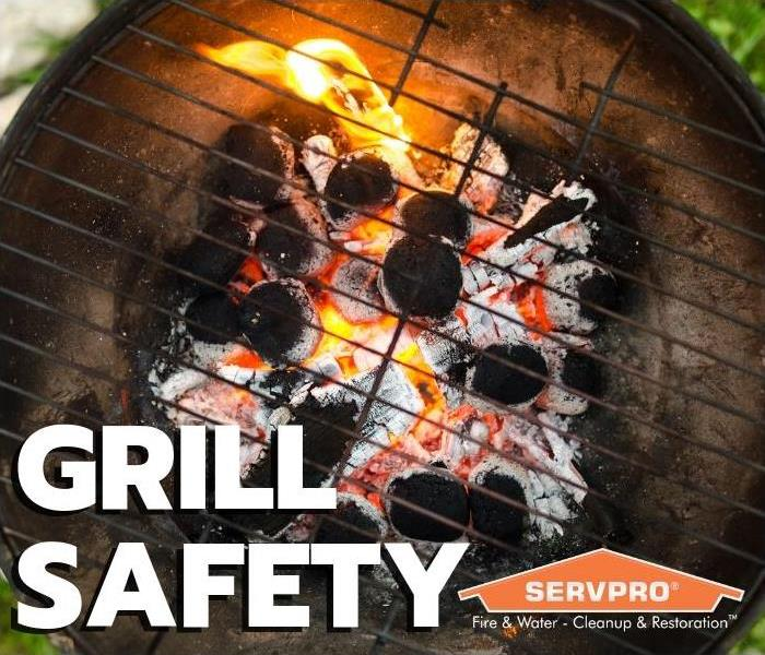 Fire Damage Grill Safety