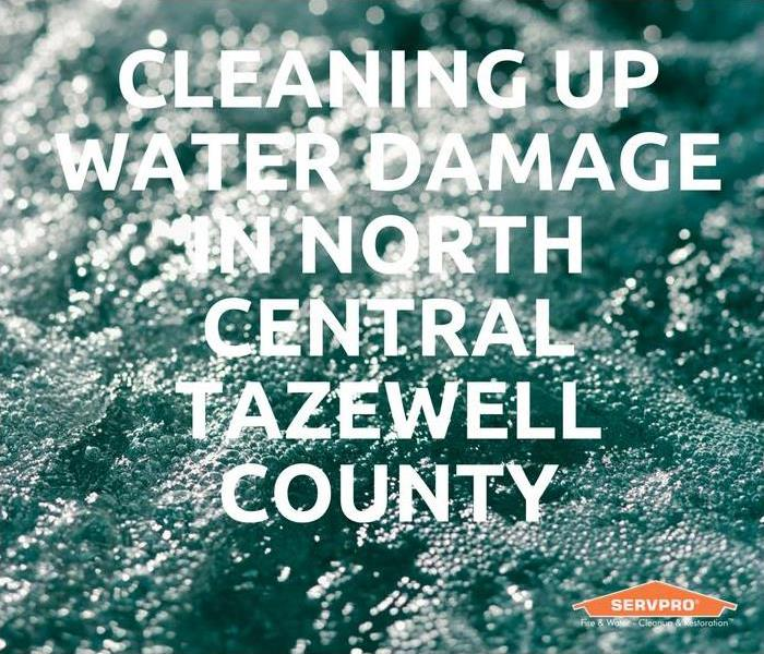 Water Damage Cleaning Up Water Damage In North Central Tazewell County