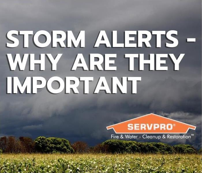 Storm Damage Storm Alerts - Why Are They Important