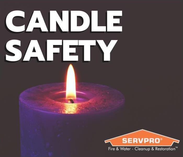 Fire Damage Candle Safety