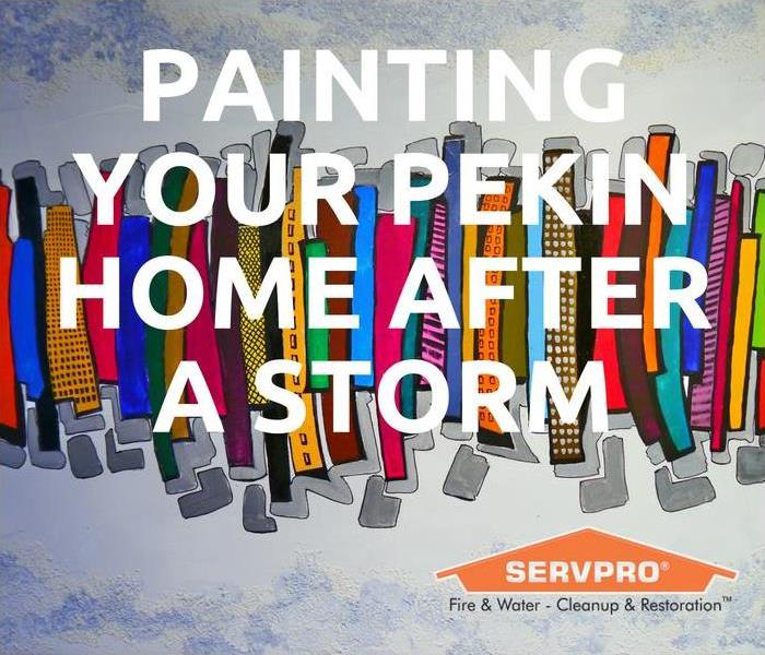 Storm Damage Painting Your Pekin Home After A Storm
